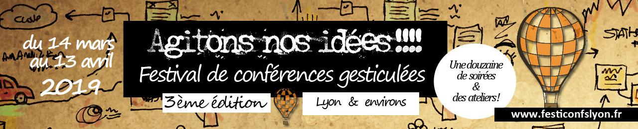 Festival conférences gesticulées Lyon 2018