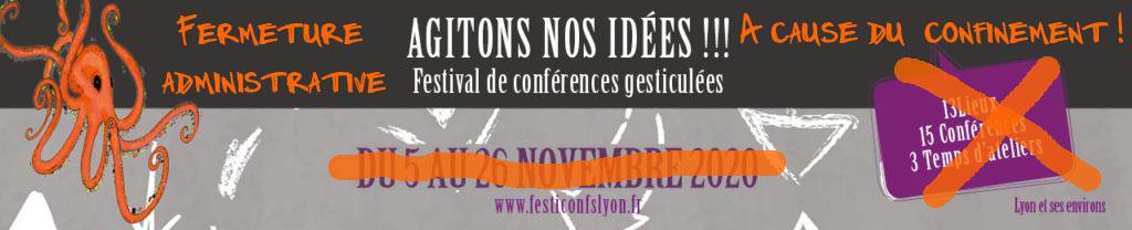 Festival conférences gesticulées Lyon 2020