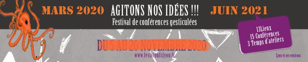 Agitons nos idées !!! Festival de conférences gesticulées - Lyon & environs